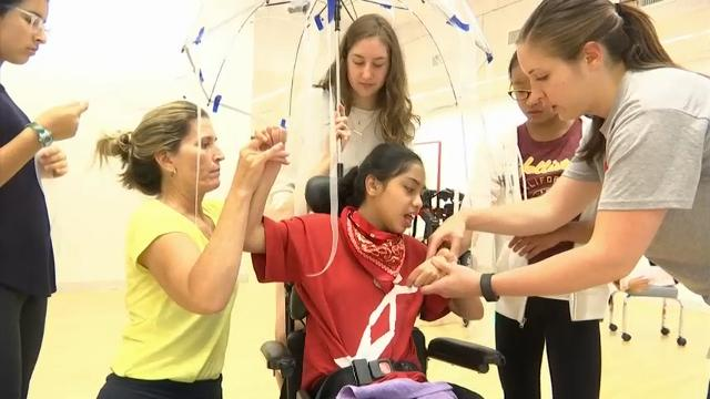 Program helps disabled children learn to express themselves through dance