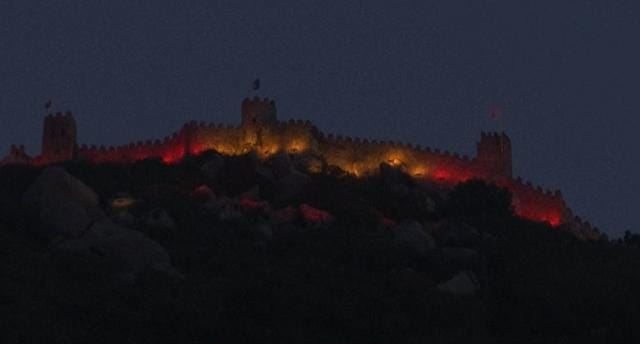 Castle of the Moors honors Barcelona victims