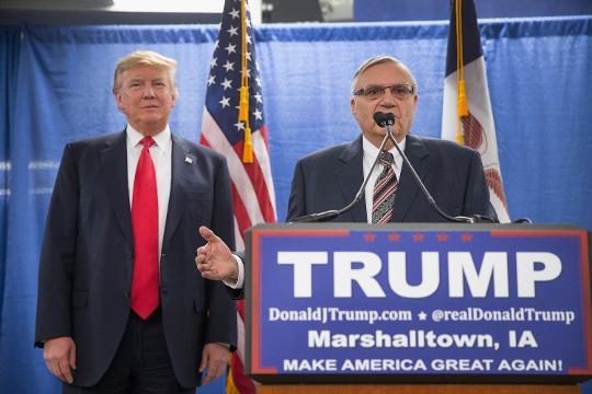 Trump says Joe Arpaio 'will be just fine'