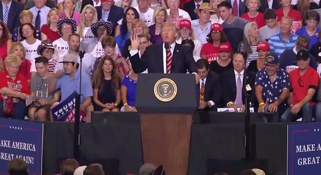 Trump rips media (again) at Phoenix rally