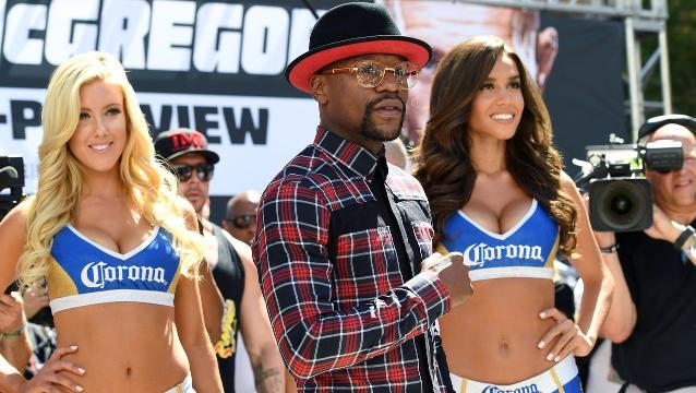 Mayweather and McGregor kick off fight week