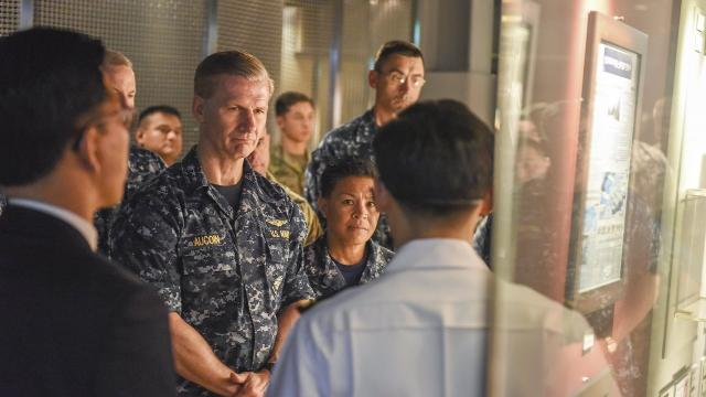 Navy dismisses high-ranking official following Pacific accidents
