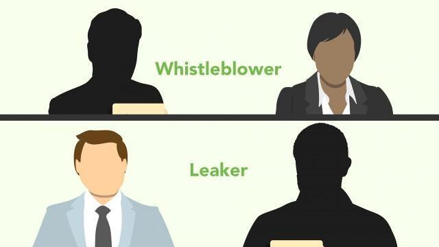 Leaker or whistleblower?