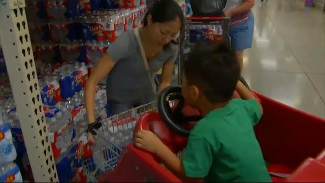 Texans prepare for Hurricane Harvey