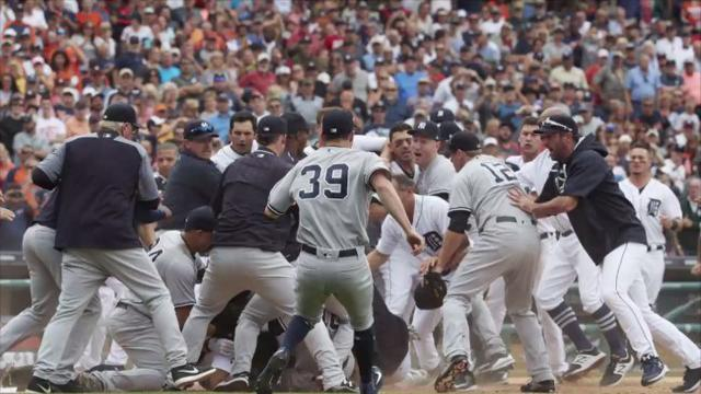 Twitter debates who won the Yankees-Tigers brawl