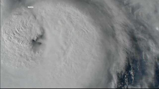 See Hurricane Harvey from space