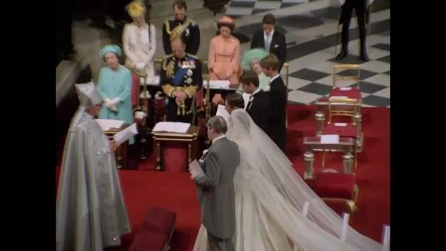 Princess Diana, Prince Charles wedding video restored to full glory