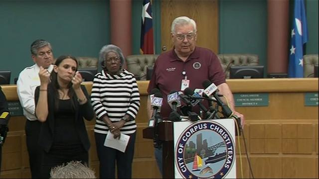 TX city officials: Hurricane Harvey 'is serious'