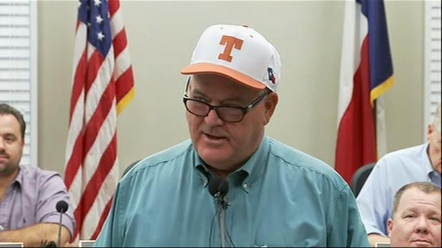 The mayor of Galveston, Texas warned residents on Friday to shelter in place as the city is expected to be inundated with water and storm surge from Hurricane Harvey. (Aug. 25)