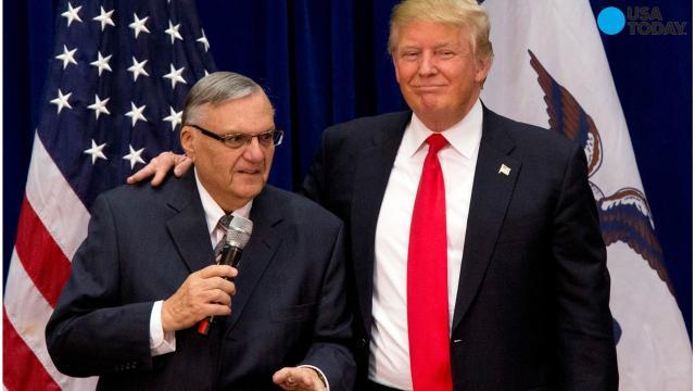 President Trump pardons Joe Arpaio