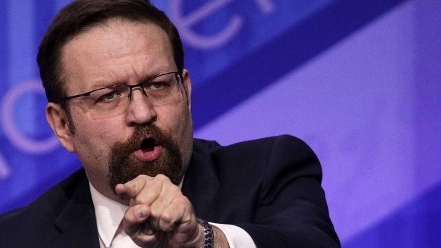 Sebastian Gorka is out of the White House