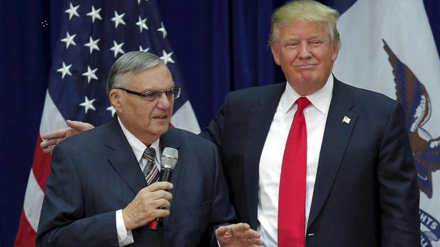 Trump's decision to pardon Joe Arpaio during Harvey causes outrage