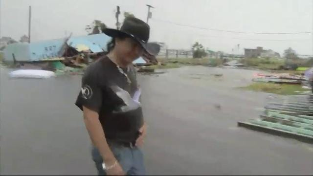 Harvey hits hard on residents of Rockport, TX