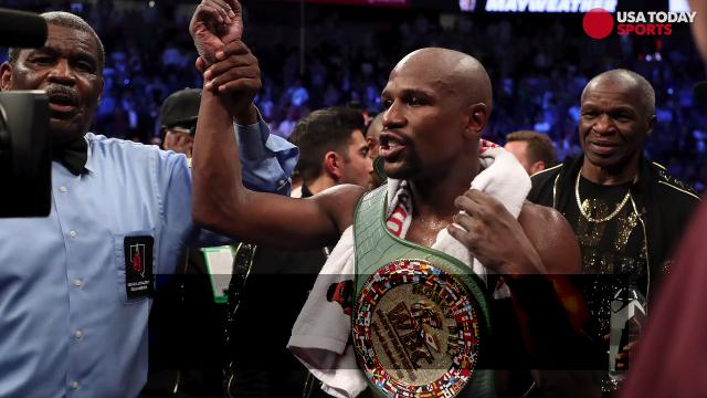 Months of hype resulted in a 10th round TKO as Floyd Mayweather improved to 50-0 after defeating Conor McGregor.