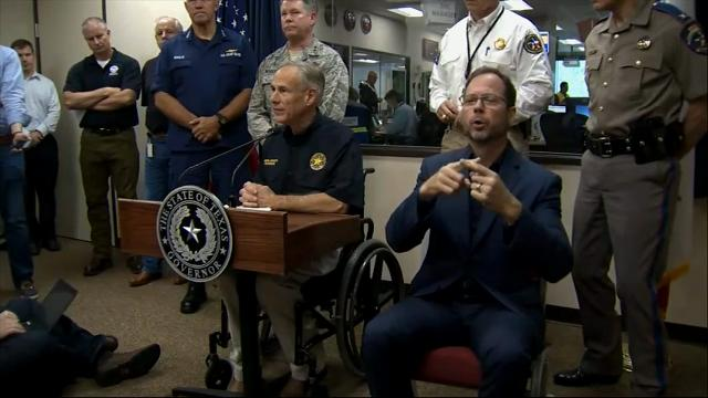 Texas Governor Cautions: 'Stay Off The Roads'
