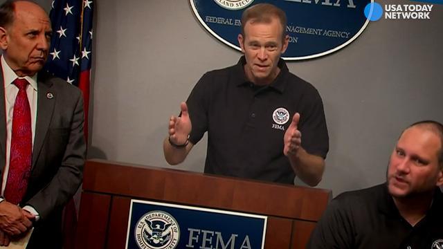 FEMA chief: Harvey 'is a landmark event'