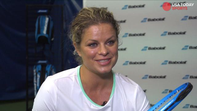 Former professional tennis player Kim Clijsters discusses with USA Today Sports what makes the U.S. Open special and who to keep an eye on in tennis.