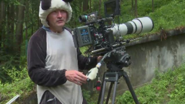 Check out the required panda suits 'Born in China' filmmakers wore to shoot up closeEntertainment