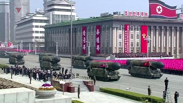 North Korea reportedly fires an unidentified missile