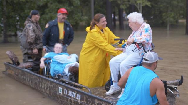 Houston turns to 'Cajun Navy' and civilian fleets to help with rescues