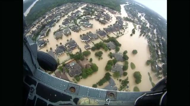 National Guard rescue stranded residents in Texas