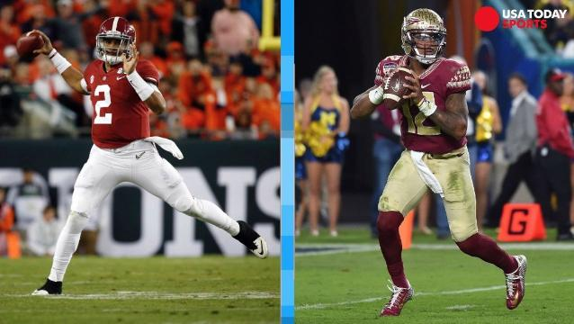 Alabama-Florida State is the game of the week