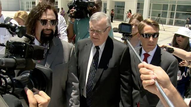 Judge Refuses to Throw Out Arpaio Guilty Verdict