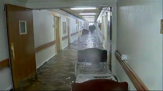 Harvey floods inundate Port Arthur nursing home
