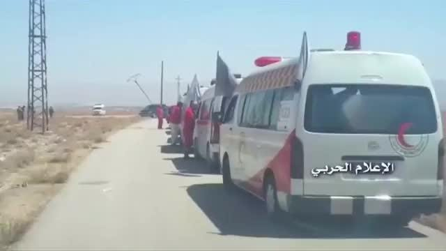 U.S. air strikes force IS convoy to retreat