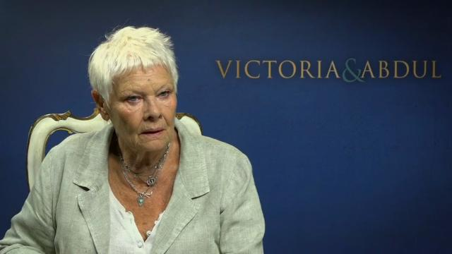 Judi Dench talks playing a queen again in 'Victoria,' inquires, 'What is the Rock?'Entertainment