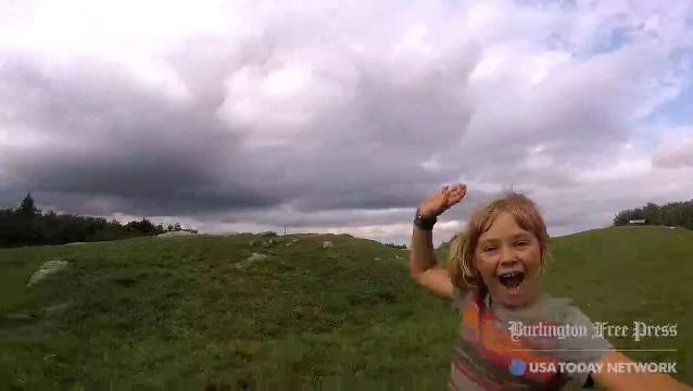 9-year-old girl, mom finish epic 300-mile hike
