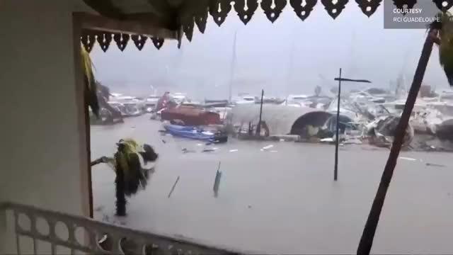 Irma hammers Caribbean, Florida braces for hit