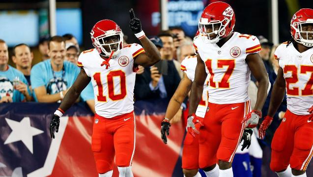 Patriots upset by Chiefs in NFL season opener