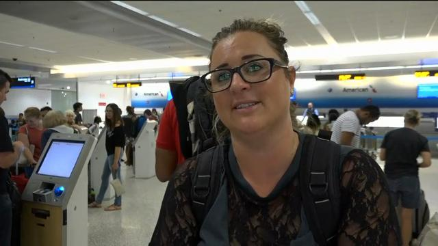 Frustrations grow for stranded airport travelers