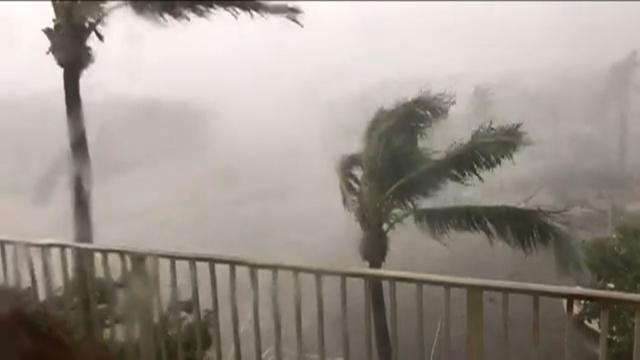 Hurricane Irma pummels Florida Keys