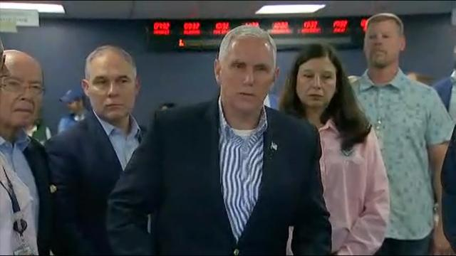Pence: Irma is storm of 'epic proportions'