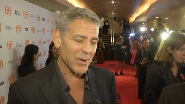Clooney: Twins are 'really good'