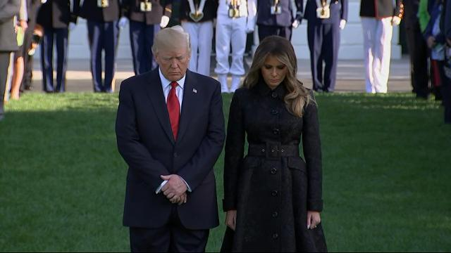 Trump holds National Moment of Silence for 9/11