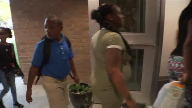 Houston students start classes after Harvey