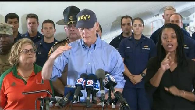 Fla. Gov.: A long road to recovery after Irma