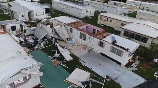 Drone reveals Irma's catastrophic wrath in east Naples