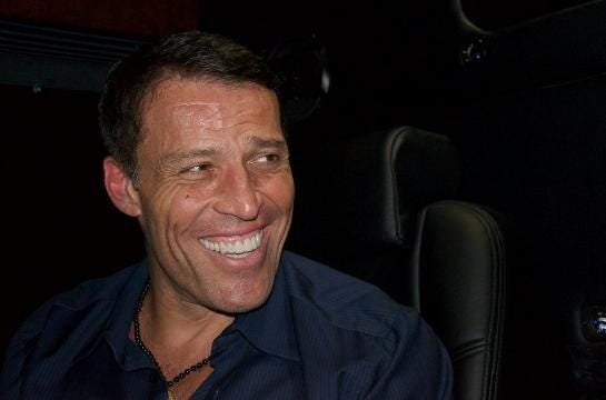 Tony Robbins on what makes elite athletes elite