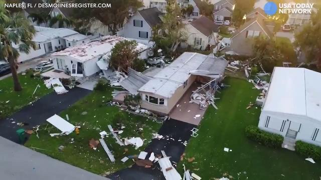 Hurricane Irma wrecks southwest Florida neighborhoods