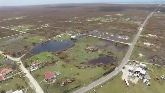 Barbuda flattened by Irma