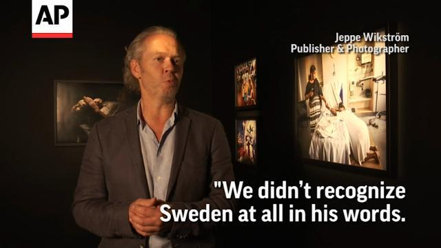 Swedish photographers send message to Trump