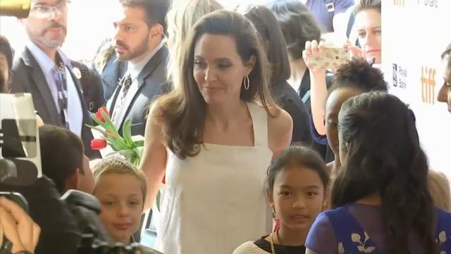 Angelina Jolie is doing 'very good,' appears with her kids