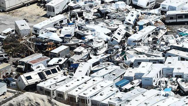 'Still standing': Florida Keys flyover shows major damage from Irma