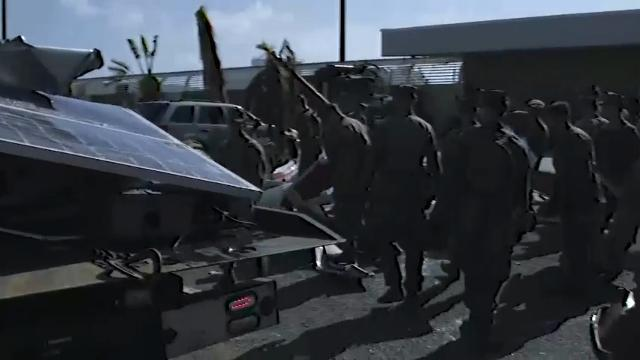 Raw: U.S. military bringing aid to Virgin Islands
