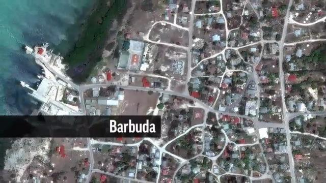 Satellite images show destruction from Irma