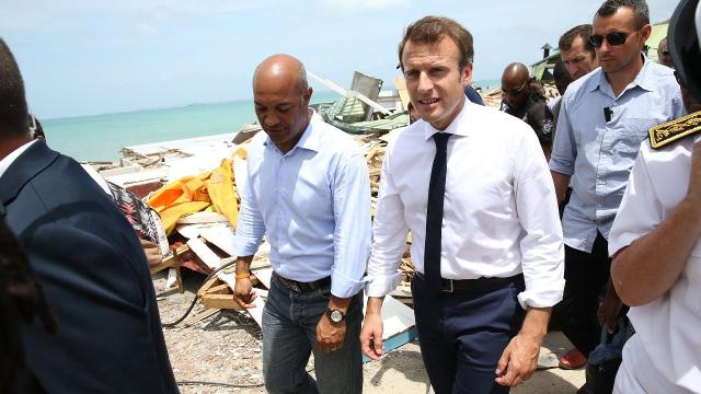 France vows to help Caribbean islands after Hurricane Irma